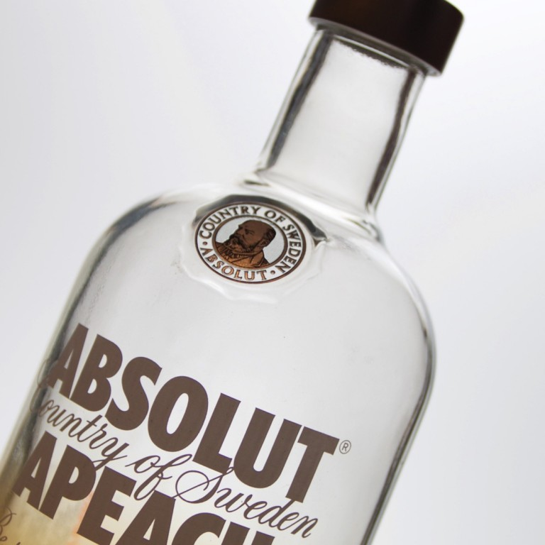 Absolut Wodka Flasche